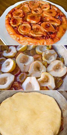 Фруктовый тарт в карамели Sweet Pie, Yummy Food, Favorite Recipes, Cakes, Baking, Desserts, Pies, Deserts, Tailgate Desserts