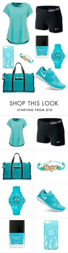 """""""Untitled #273"""" by tva-lpz ❤ liked on Polyvore featuring NIKE, LeSportsac, Domo Beads, Ice-Watch, Butter London and Ankit"""