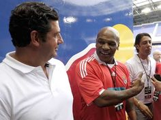 SPORTS And More: @Boxing @Soccer @MikeTyson at a  @Benfica game vs ...