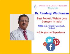 Randeep Wadhawan in India Offers the Best Solution for Permanent Weight Loss - Wellness - Health Best Plastic Surgeons, Robotic Surgery, Bariatric Surgery, Fill, Weight Loss, Good Things, India, Reading, Goa India