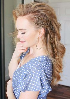47 Romantic Double Braid Hairstyles to Create in 2018. In this piece of content we have mentioned best styles of double braid hairstyles and haircuts that you can try nowadays. As we all know that there are so much ways that we can use to style the braid, but double braid is best style for all the ladies to get romantic hair look. Let;'s take a look at this amazing style.