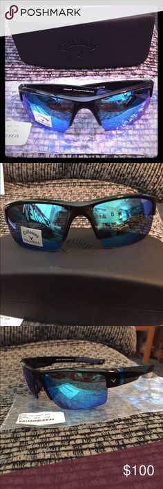 Callaway polarized sunglasses Bite Callaway Sunglasses - polarized. Comes with cloth and hard case. Callaway Accessories Sunglasses