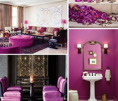 radiant orchid inspiring interiors - http://www.bykoket.com/blog/radiant-orchid-trends-2014-color-crush-janet-morais/