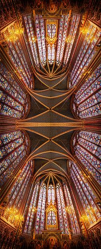 The Crystal Forever in Sainte Chapelle - France