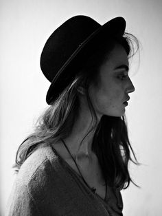 this hair/everything maison scotch fall 2011 Fashion Advice, Fashion Outfits, Grunge, Dior, Bowler Hat, Love Hat, Beanie, Cool Hats, Girl With Hat