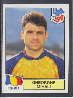 #Panini - usa 94 world cup - # 79 #gheorghe mihali - #romania (black back),  View more on the LINK: http://www.zeppy.io/product/gb/2/291447765894/