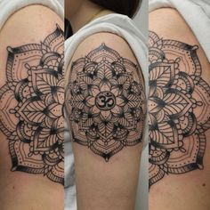 Mandala tattoo by Susie Humphrey
