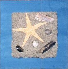 Sandbilder als tolle Urlaubserinnerung - Sand mit Tapetenkleister vermischen und Bild gestalten