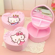 Hello Kitty Cosmetic Jewelry Box //Price: $9.99 & FREE Shipping // World of Hello Kitty http://worldofhellokitty.com/hello-kitty-heart-shap-cosmetic-jewelry-debris-storage-boxs-with-mirror-bijoux-gift-box-case-holder-makeup-tools-table-organizer/    #childrensworld