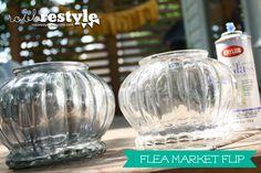 """""""Flea Market Flip: Painted Vases"""""""