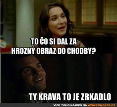 Co jsi dal za hrozný obraz do chodby? Good Jokes, Funny Jokes, Humor, Funny Pictures, Memes, Art, Craft Art, Cheer, Good Funny Jokes
