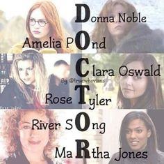 Doctor Who rose mather donna amy rory river clara