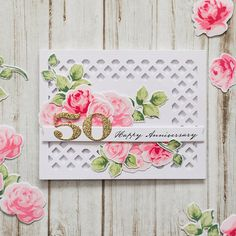 try this with pti the sweet life. use a stencil and molding paste in place of the die cut background.
