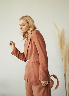 Bow Slides, Gift Of Time, New Earth, Made Clothing, Together We Can, Sustainable Design, Summer Collection, Terracotta, Coral