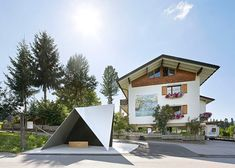 Architect-designed bus stops in Krumbach photographed by Hufton + Crow – Unterkrumbach Süd bus stop by Architecten de Vylder Vink Taillieu.