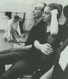 Suzanne Farrell and George Balanchine