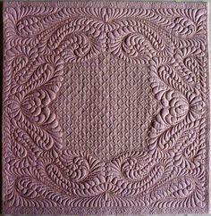 Tea Rose-Wholecloth quilt | K. Dunkelgod  | die PatchWerkstatt (Germany)