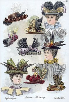 November 1896 Fashion | Flickr: Intercambio de fotos