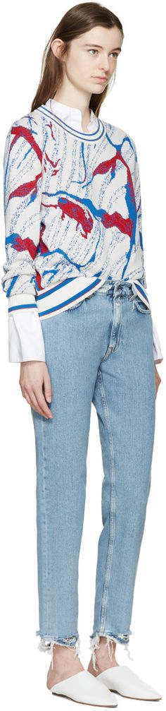 Aalto - Tricolor Patterned Sweater