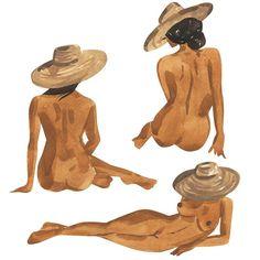 "Girl gang 💞 ""Figure Study I"" prints available in my Etsy shop, off fo. Girl gang 💞 ""Figure Study I"" prints available in my Etsy shop, off for the weekend! Painting Inspiration, Art Inspo, Art Mini Toile, Images D'art, Mini Canvas Art, Art Et Illustration, Illustrations, Feminist Art, Zine"