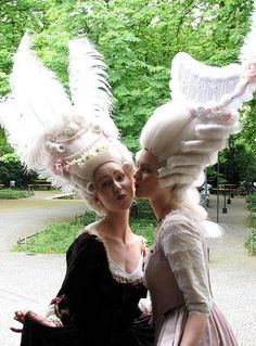 Baroque & Rococo Hair Styles Theater Akademie By Anika Rohrbeck und Claudia Mitdank