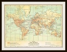 29 best World maps images on Pinterest | World maps, Cartography and ...