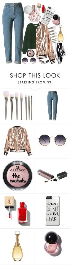 """""""The question isn't who's going to let me; it's who is going to stop me."""" by fangirl-preferences ❤ liked on Polyvore featuring Sans Souci, Spitfire, Christian Dior, women, amercia, equality, lovewins and womensmarch"""