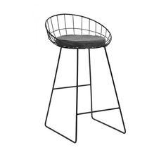 Nordal CLASSIC Barstol - Sort - Sort barstol