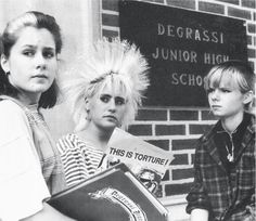 Vintage #Degrassi. These chicks were my idols. #Canadian Idols.