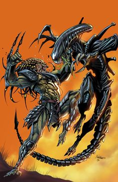 Alien Vs Predator, Predator Comics, Predator Cosplay, Wolf Predator, Predator Alien, King Kong, Predator Tattoo, Scary Movie Characters, Aliens Colonial Marines