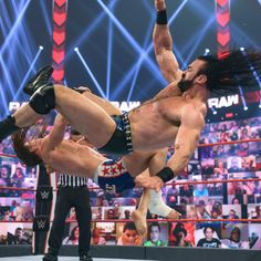The must-see images of Raw, June 28, 2021: photos | WWE Drew Mcintyre, Battle Royal, High Stakes, Aj Styles, Wwe Photos, See Images, Professional Wrestling, Superstar, June