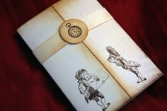 Save the Date  Alice in Wonderland invitation  by anistadesigns