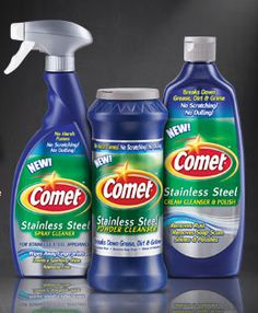 Mommy's Kitchen - Old Fashioned & Southern Style Cooking: Comet Stainless Steel Cleaner Review & {Giveaway}