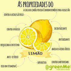 Casca de limão - veja aqui 10 maneiras diferentes de você usar.