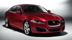 2012 Jaguar XFR (mine is black, but just as hot)
