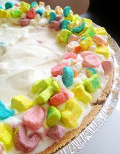 St. Patrick's Day No Bake Ice Box Pie
