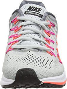 ¿Cómo itálico Policía  Amazon.com | NIKE Women's WMNS Air Zoom Pegasus 33, Pure  Platinum/Black-Cool Grey-Pink Blast, 5 M US | Running | Nike women, Nike,  Running shoes nike