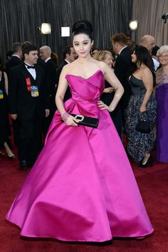 Fan Bingbing  Oscars 2013 Red Carpet Photos: See All The Dresses From The Academy Awards (PHOTOS)