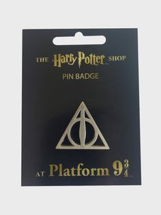 Deathly Hallows Pin Badge | The Harry Potter Shop at Platform 9 3/4