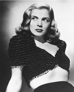 Lizabeth Scott (1922 - 2015), Film Noir Actress of the 1940's and 1950's.