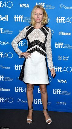 Naomi Watts in Burberry Resort 2016 at the press conference for Demolition at the Toronto International Film Festival on September 11, 2015