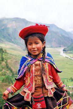 Trajes tipicos peruanos