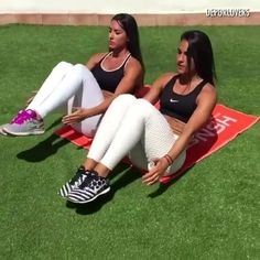 """Get Up And Do It! on Instagram: """"Outdoor ab workout  by @espeworkout and @clarabelfitness"""""""