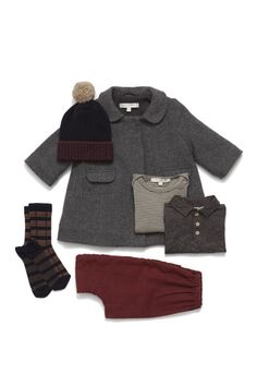 Derwent baby wool coat - Caramel Baby & Child