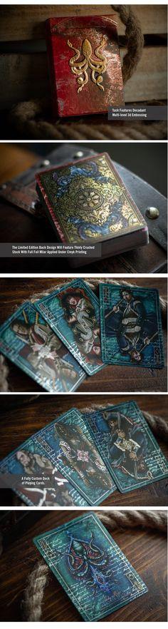 Jolly Roger Kraken Epic Playing Cards by Jody Eklund — Kickstarter