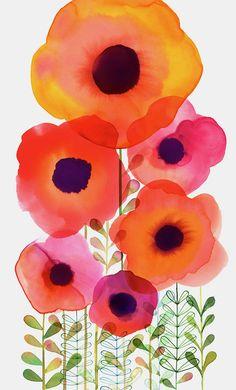 Margaret Berg : florals / spring Mais