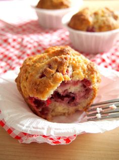 Raspberry Breakfast Muffins, yup, they're yummy.