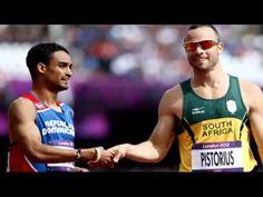 'Blade runner' Oscar Pistorius roars into 400m 2012 Olympic semi-finals  Derek B Sharp  http://www.WorkWithDerekSharp.com