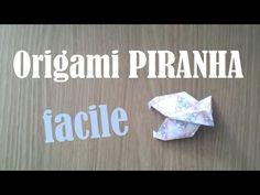 Origami Piranha Fish (Alexander Kurth) Tutorial - YouTube