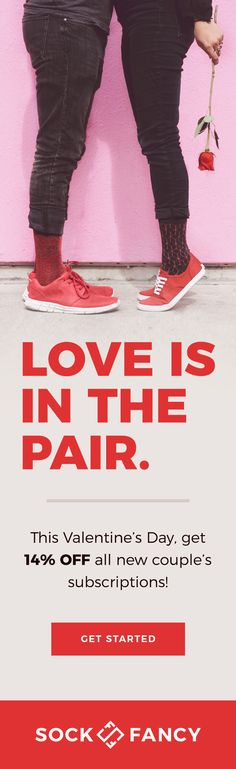 03a8013c6ac Collection by Sock Fancy · Board owner. Follow. For Valentine s day only!  Use code  PINPAIR for 14% any new subscription.